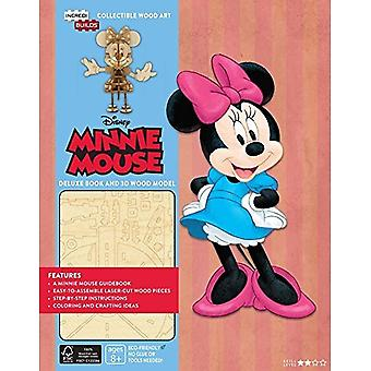 IncrediBuilds Walt Disney: Minnie Mouse 3D Wood Model and Book