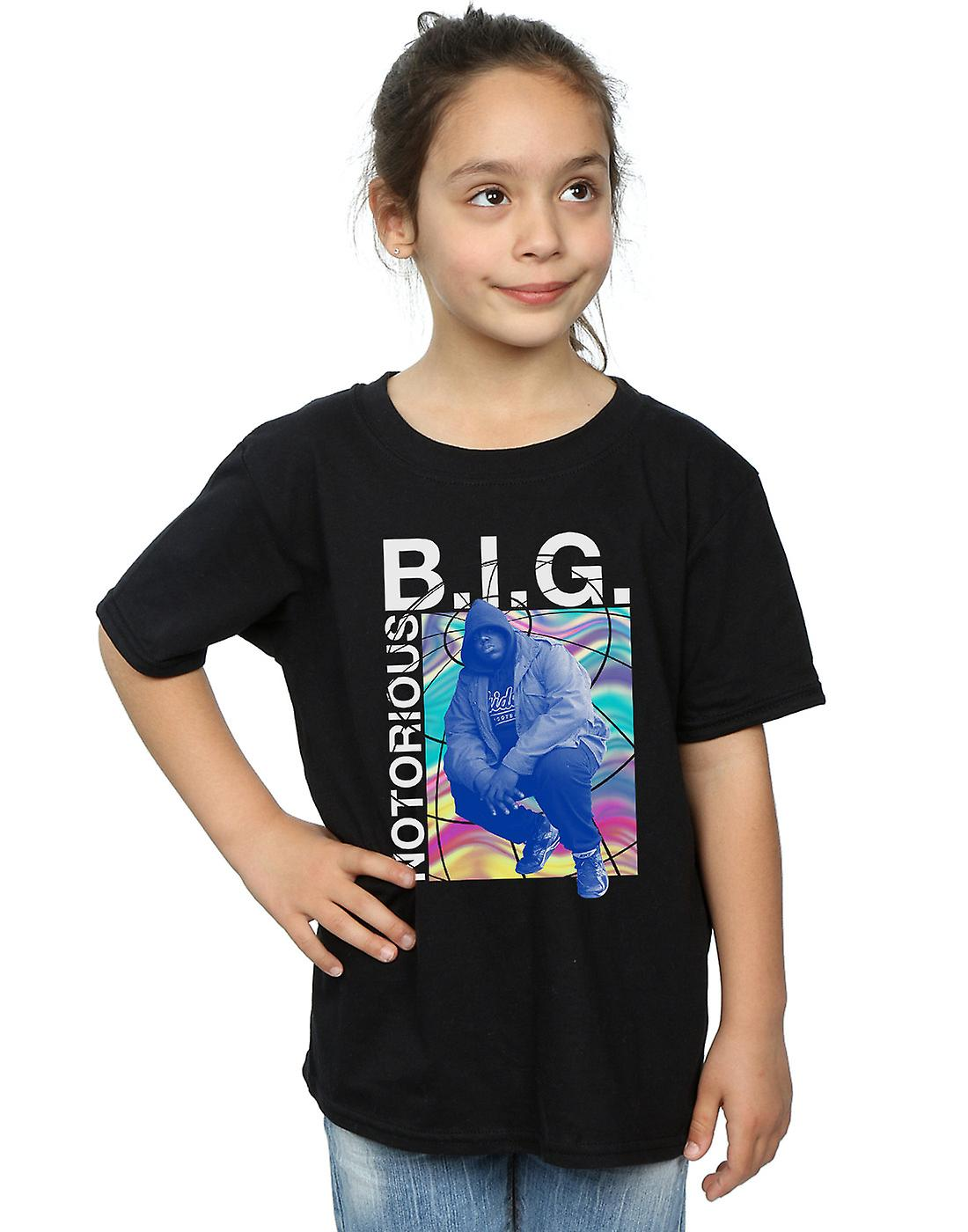 Notorious BIG Girls Holographic Photo T-Shirt