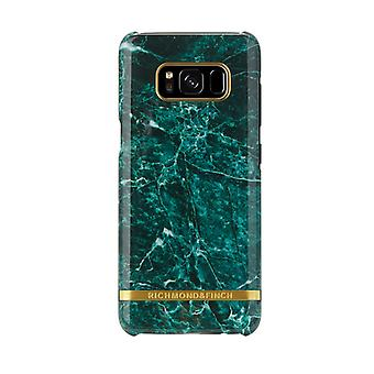 Richmond & Finch shells voor Samsung Galaxy S8 plus-groen marmer