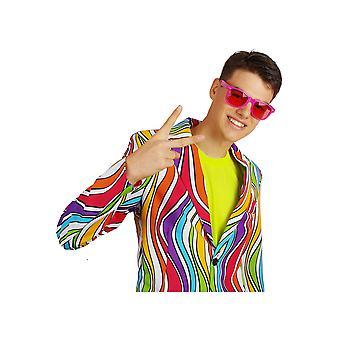 80 okulary okulary różowy magenta