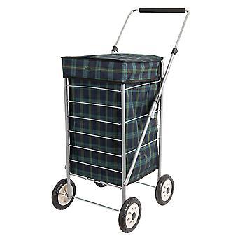 Sabichi Angus 4 Rad Einkaufswagen