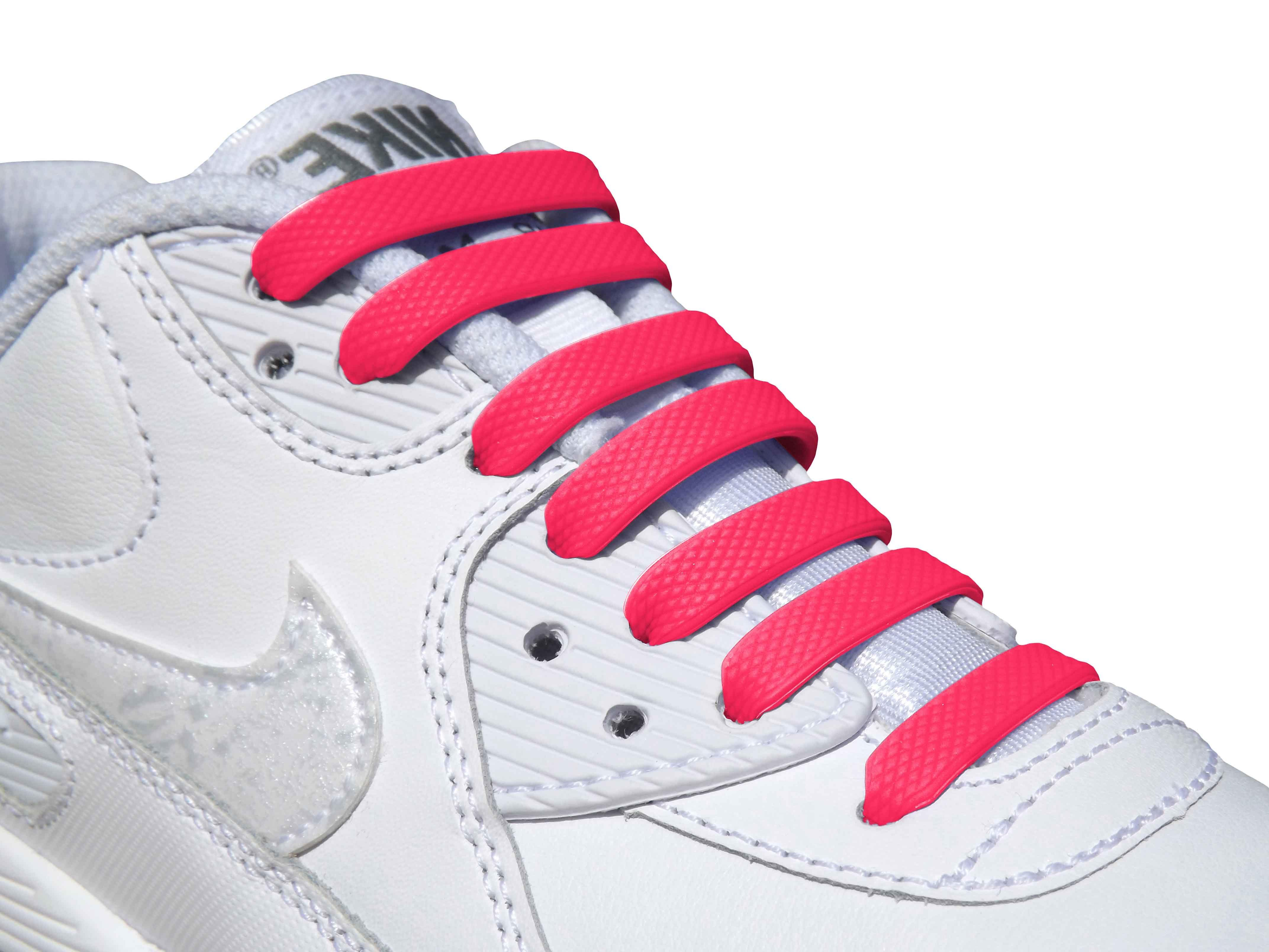 Pink Adults Easy No Tie For Trainers