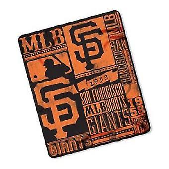 San Francisco Giants MLB Northwest Fleece Throw