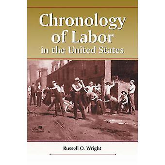 Cronologia del lavoro negli Stati Uniti di Russell O. Wright - 97807