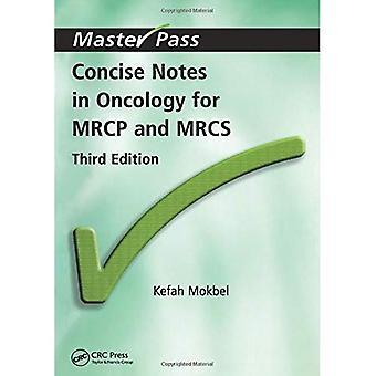 Kort notater i onkologi MRCP og MRCS (Master Pass)
