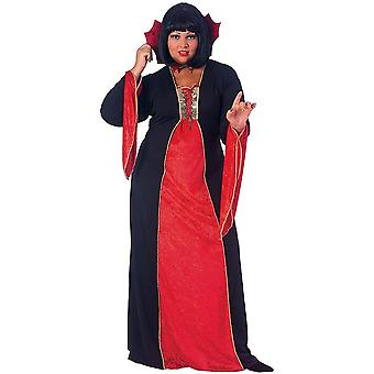 Vampiress Woman Plus Size Costume