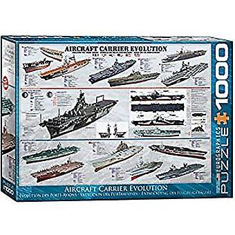Hangarfartyg Evolution 1000 bit pussel 680 x 490 mm (pz)