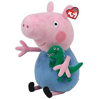 "Peppa Pig TY Peppa Pig Plush 12"" George"