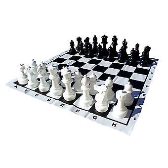 12 Inch King Garden Chess Set