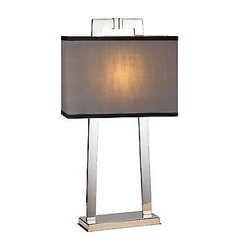 Elstead-1 candeeiro de mesa de luz-acabamento em níquel polido-MAGRO/TL