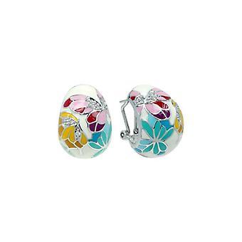 Belle Etoile Butterfly Kisses White Earrings 3021010501