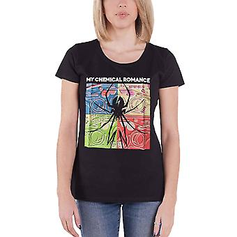 My Chemical Romance T Shirt Desert Spider Explosive Official Womens Skinny Fit