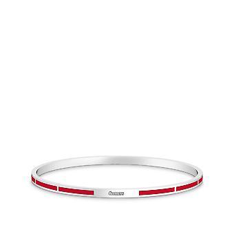 Arsenal FC Bracelet In Sterling Silver Design by BIXLER