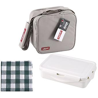 Bergner Porta Grey Polyester Food 23X22X13.5Cm (Kitchen , Kitchen Organization , Others)