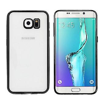 Samsung S6 Edge Plus Case Black - Tylna obudowa zderzaka Clear