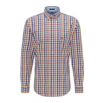 Fynch-Hatton Fynch Hatton Maritime Long Sleeve Shirt Big Check