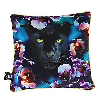 Ashleigh e Burwood Wild Things Luxury Duck Down Feather Cushion Born with Cattitude