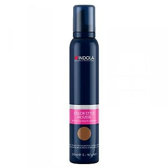 Indola Colour Style Mousse Medium Brown 200ml