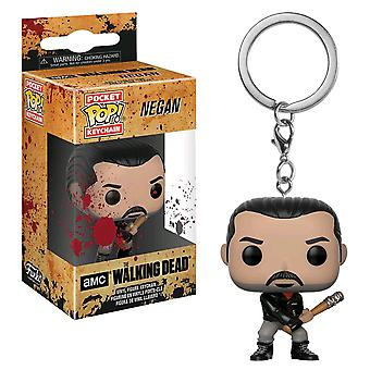 The Walking Dead Negan Bloody Pocket Pop! Keychain