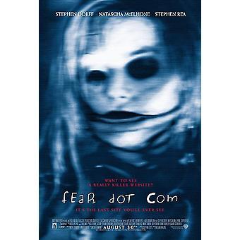 Pelko dot com (kaksipuolinen säännöllinen) alkuperäinen elokuva juliste