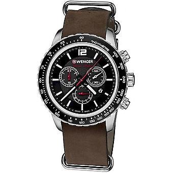 Wenger Men's Watch 01.0853.106 Chronographs