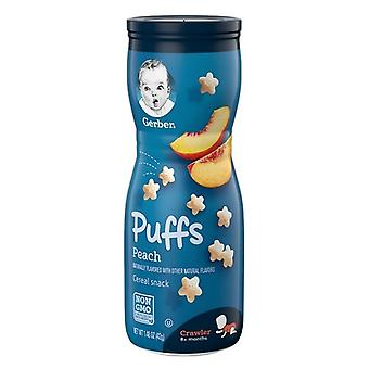 Gerber Puffs Peach cereale gustare