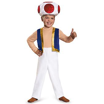 Toad Mushroom Nintendo Super Mario Bros Videojuego Niño Niño Traje