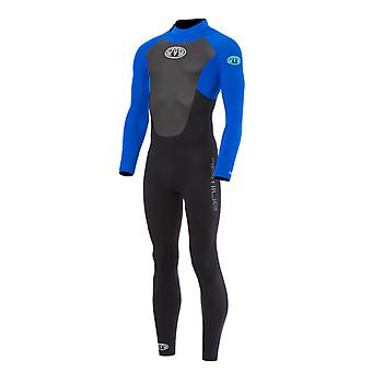 الحيوان الحمم Gbs العودة الرمز البريدي الكامل wetsuit في الأشعة فوق البنفسجية الأزرق