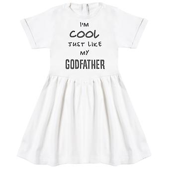 I'm Cool Just Like My GodFather Baby Dress