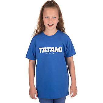Tatami Fightwear Kid's Essential 2019 T-Shirt - Niebieski