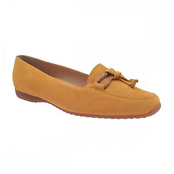 Peter Kaiser Ralda Yellow Suede Moccasin Chaussure