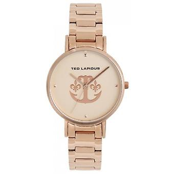 Watch Ted Lapidus A0742URPX - steel Dor Rose wife