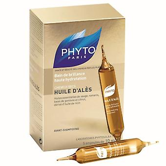 Phyto Huile D'Ales Intense Hydrating Oil Treatment 5 x 10ml