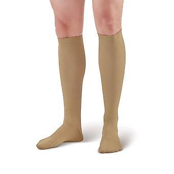 Pebble UK Mens Compression Socks [Style P100] Brown  XL