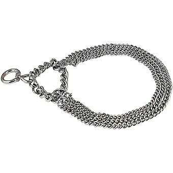 Trixie Triple Row Choke Dog Chain With Strain Relief