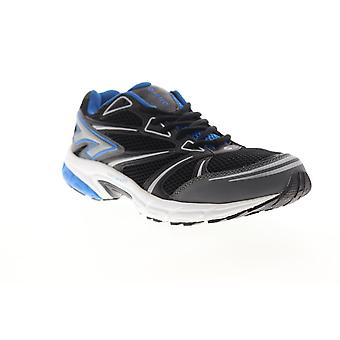 Hi-Tec Phantom  Mens Black Mesh Synthetic Athletic Running Shoes