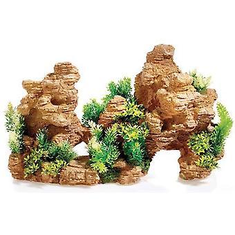 Классический для домашних животных красный камень Каньон 475 мм (рыба, украшения, пород & пещеры)