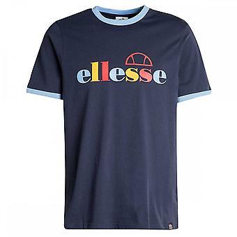 Ellesse Limora Marineblå Bomull T-skjorte