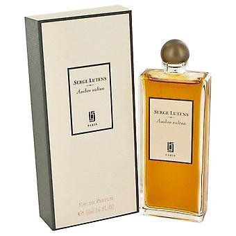 Ambre Sultan Eau De Parfum Spray (Unisex) Av Serge Lutens 465438 50 ml