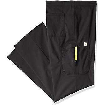 Code Happy mens Bliss with Certainty Plus Drawstring Scrub Cargo Pant,Black,X...