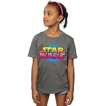 Star Wars Girls Summer Fade Logo T-Shirt