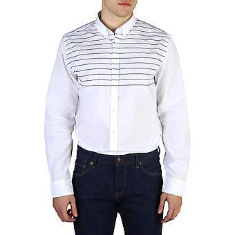 Tommy Hilfiger Original Men All Year Shirt - White Color 40642
