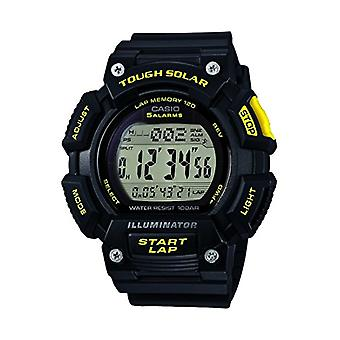 Casio digital watch quartz men with black resin strap STL-S110H-1CEF