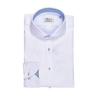 Stenstroms Fitted Long Sleeved Shirt White