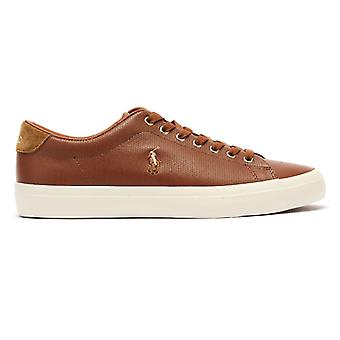 Ralph Lauren Longwood Mens Tan Trainers