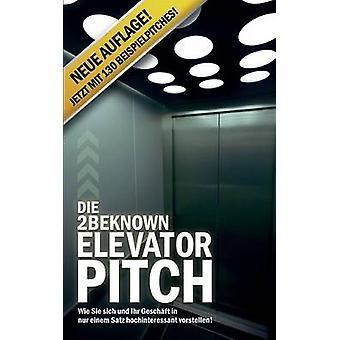 Die 2beknown Elevator Pitch by Riedl & Alexander