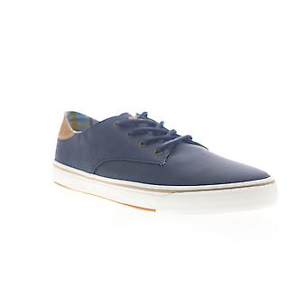 Tommy Bahama Dune Drifter  Mens Blue Leather Low Top Sneakers Shoes