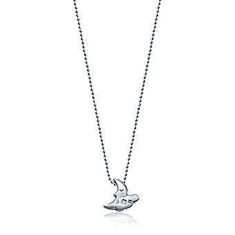 Alex Woo Necklace with Silver Woman Pendant Oxidized 40cm