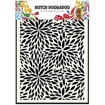 Dutch Doobadoo A5 Mask Art Stencil - Floral Waves 470.715.116