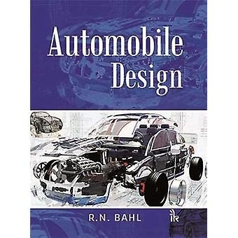 Automobile Design by R.N. Bahl - 9789386768193 Book